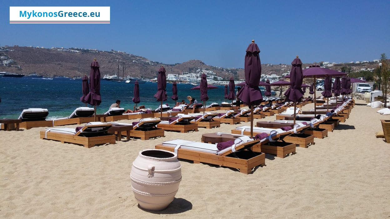 Agia Anna Beach in Mykonos